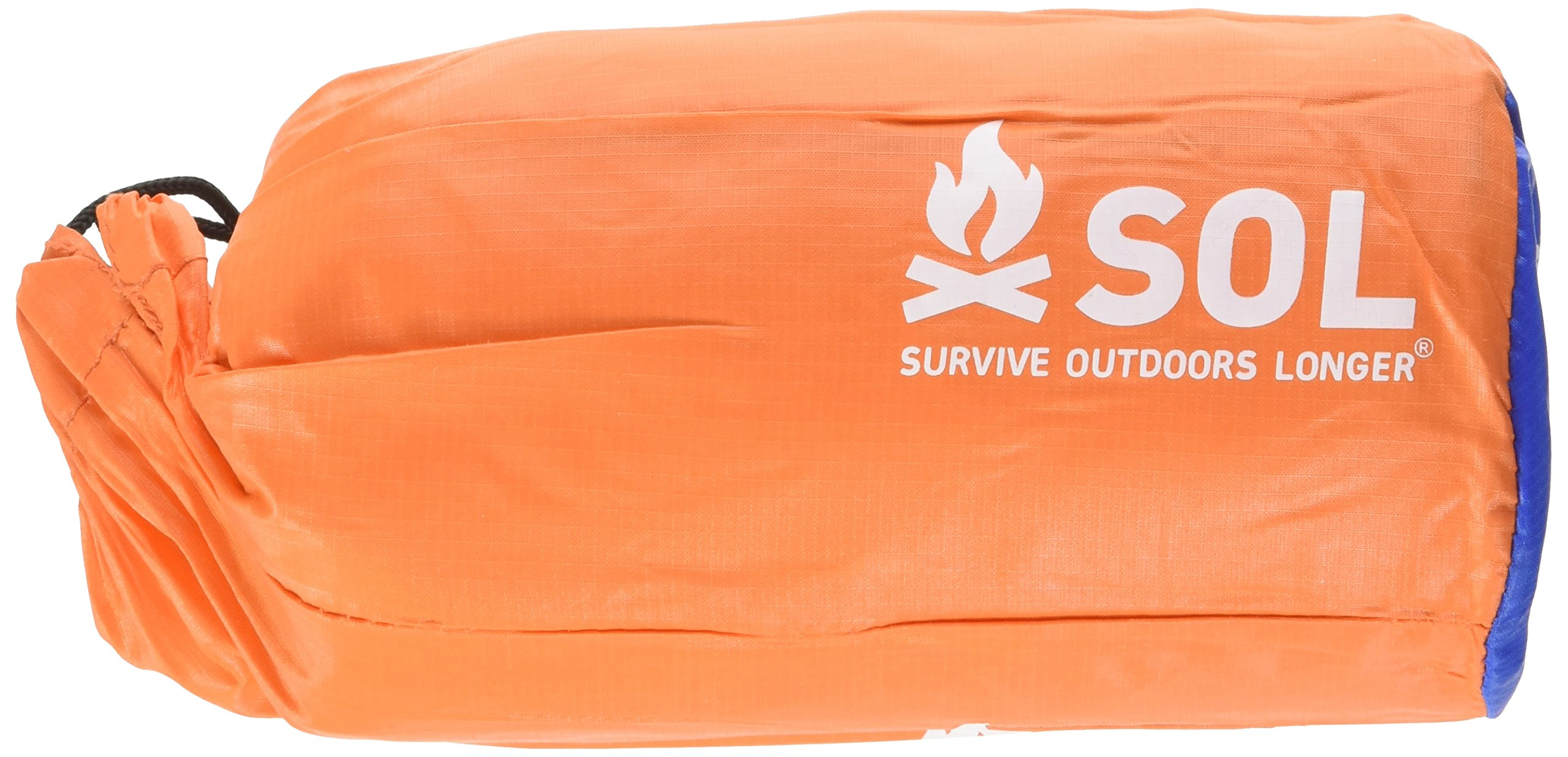 S.O.L. Survive Outdoors Longer 90 Percent Heat Reflective 2-Person Emergency Bivvy XL