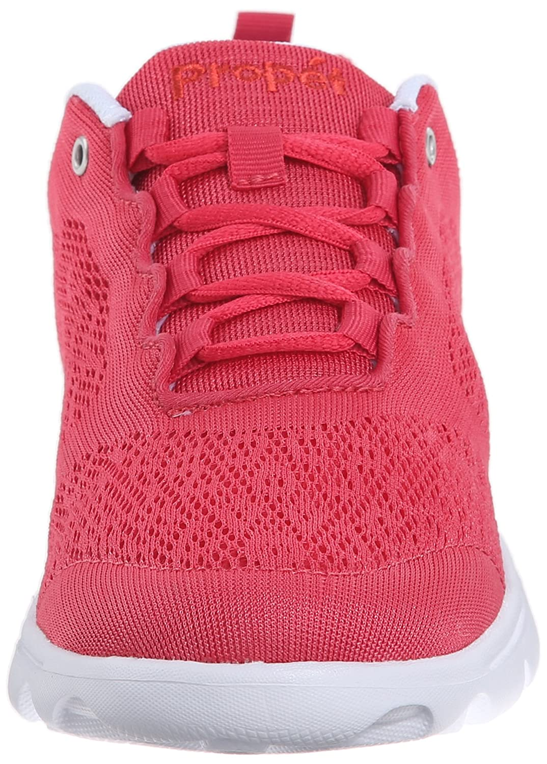Propet Women's TravelActiv Fashion Sneaker B0118FFNMU 7.5 N US|Watermelon Red