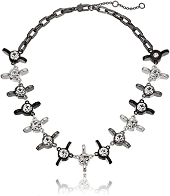 Amazon Com Marc Jacobs Wingnut Statement Strand Necklace 16 2