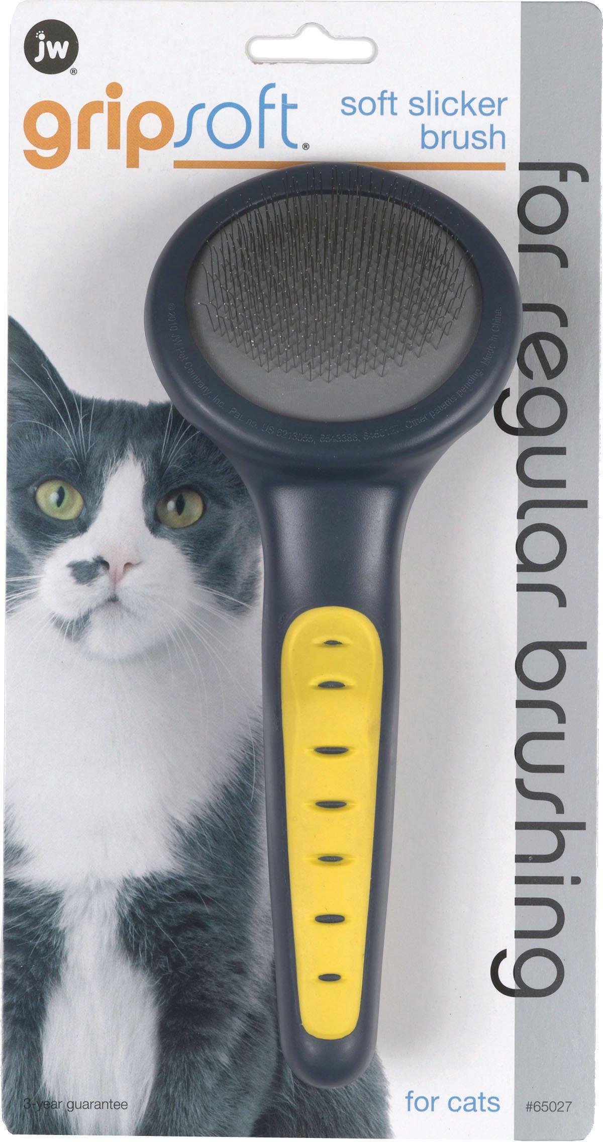 JW Gripsoft Cat Slicker Brush Cat Slicker Brush - Pack of 12 by JW Pet