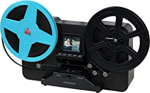 """Magnasonic Super 8/8mm Film Scanner, Converts Film into Digital Video, Vibrant 2.3"""" Screen, Digitize and View 3"""", 5"""" and 7"""" Super 8/8mm Movie Reels (FS81)"""