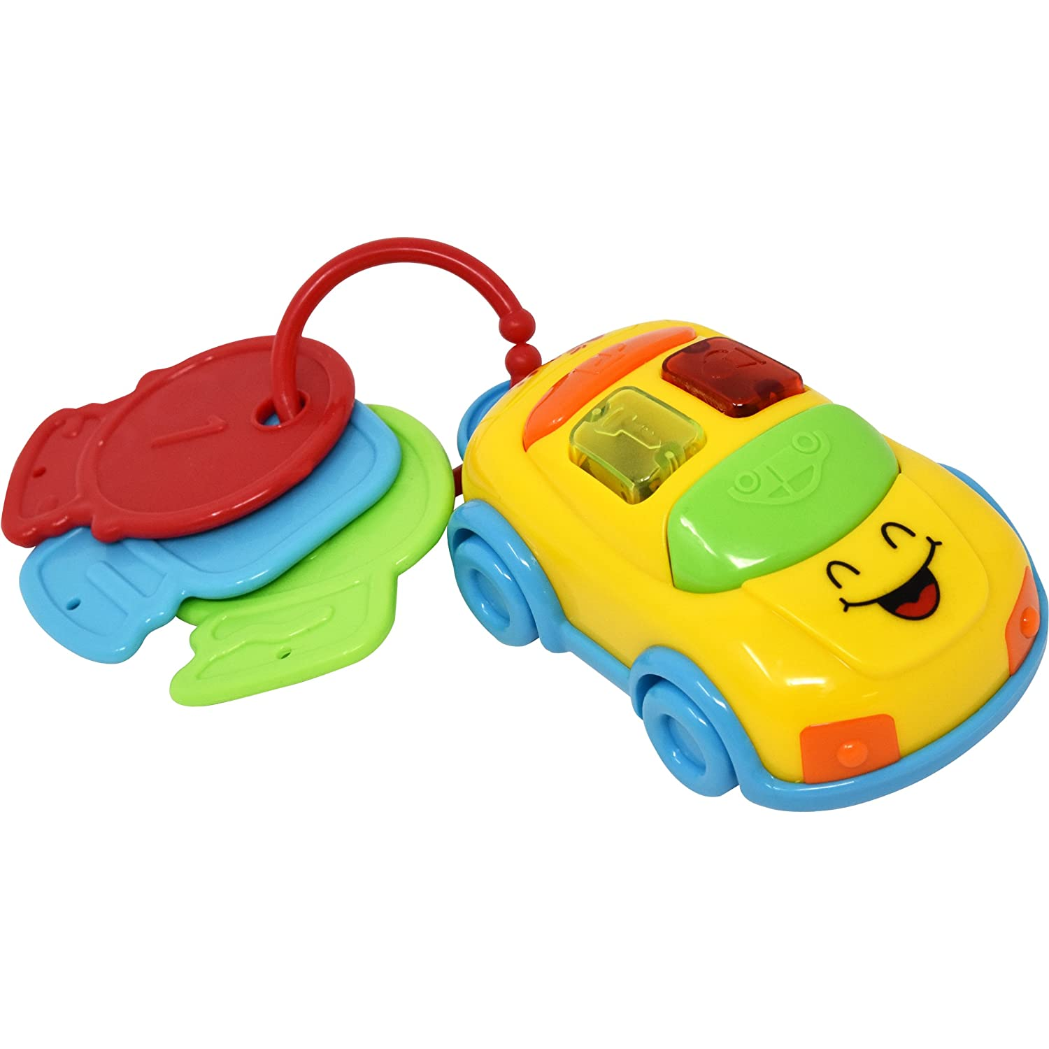 Music and Lights Baby Car Toy with Car Keys, Flashing Lights