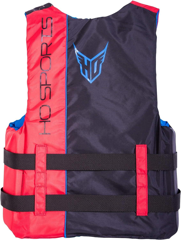 HO Infinite CGA Mens Wakeboard Vest Black//Red Sz L