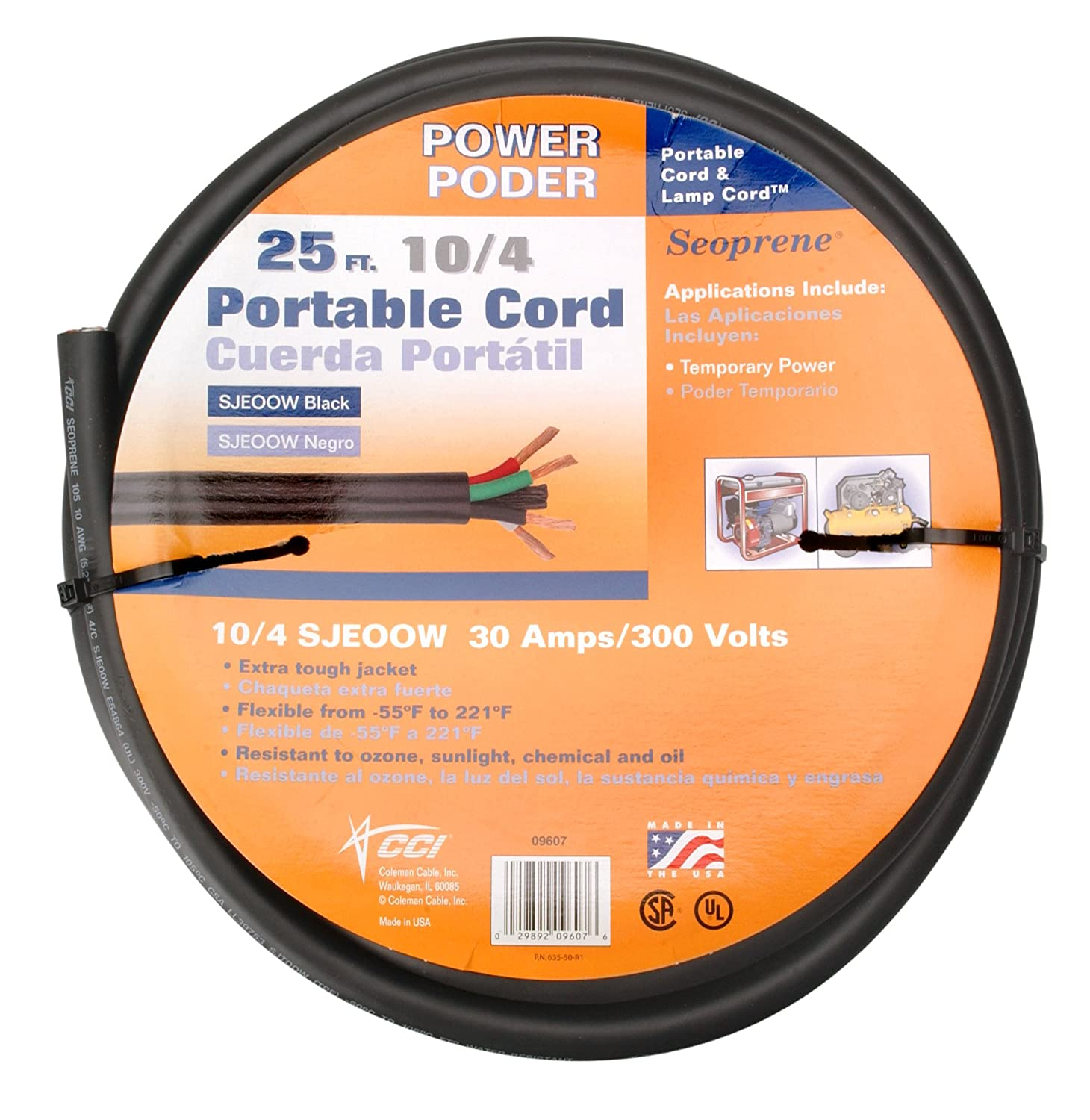 Safely Use Extension Cords When Charging An Electric Car Or Wiring 4 Wire Cord To 3 Prong Dryer Likewise 110v 220v Switch Coleman Cable 09607 10 Bulk 25 Amp Gauge Feet