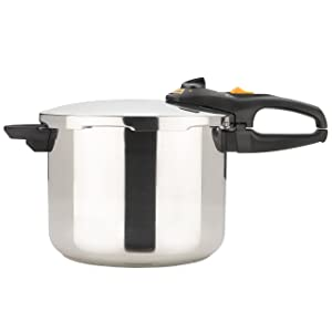 Fagor Duo 8-Quart Stainless-Steel Pressure Cooker
