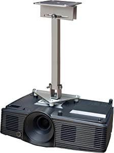 PCMD, LLC. Projector Ceiling Mount Compatible with Acer H5382BD H6510BD+ H6511BD H6512BD HE-722 HE-805J with Lateral Shift Coupling (14-Inch Extension)