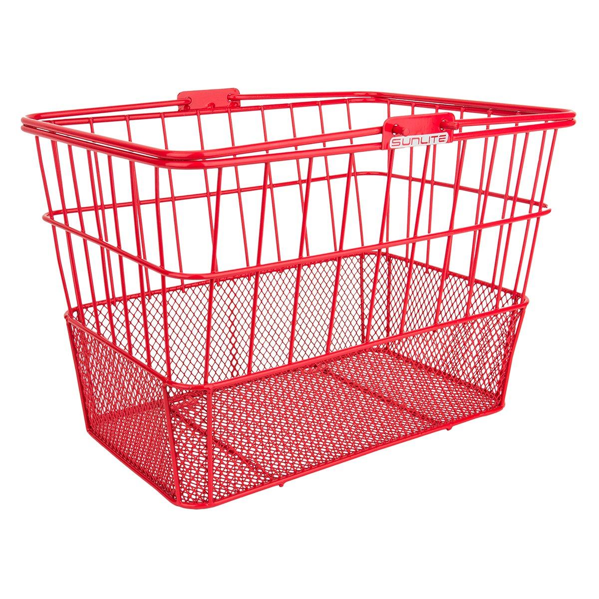 Sunlite Standard unten Lift-Off Netz Vorne Korb mit Halterung, Rot