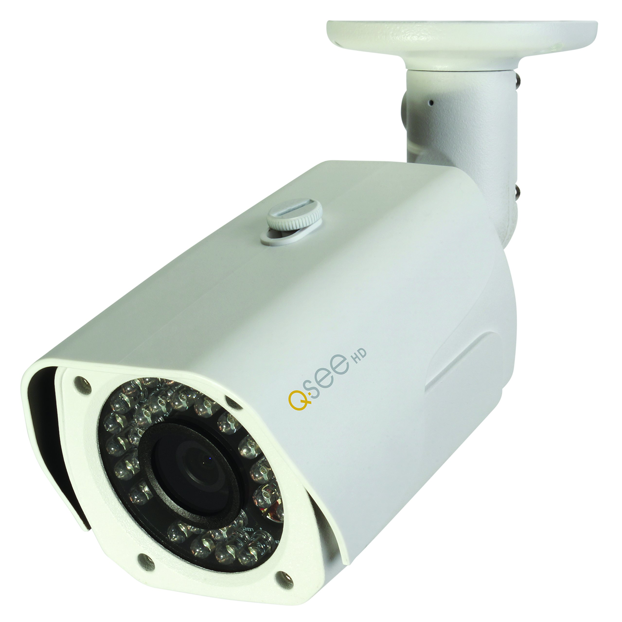 Q-See QCA7201B 720p High Definition Analog, Metal Housing, Bullet Security Camera (White)
