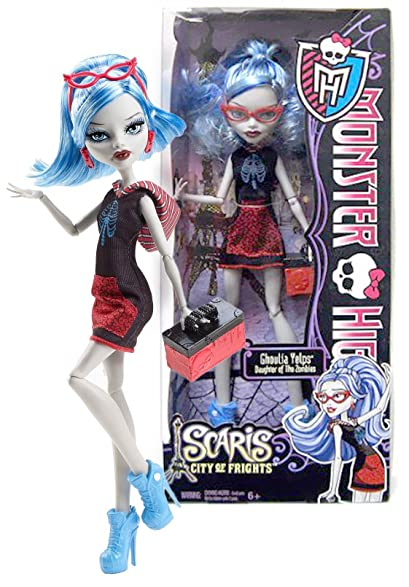 ghoulia yelps daughter of the zombies 105 monster high scaris city of - Ghoulia Yelps