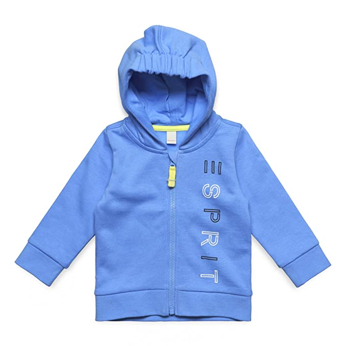 Esprit Kids Sweatshirt Card, Sudadera para Bebés, Azul (Azuray Blue 443) 62