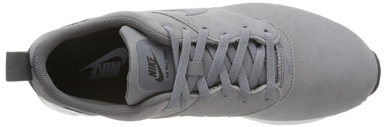 Nike Men's Air Max Tavas Leather Low Top Sneakers, Grey