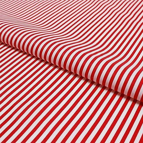 0,5m gestreift 1+3 mm Streifen 1,5m breit €8,60//m² Baumwollstoff