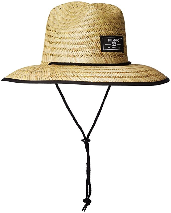 Amazoncom Billabong Mens Brolock Lifeguard Hat Natural One Size