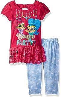 Shimmer and Shine Girls 2 Piece Skirt Set