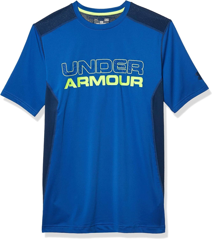 Under Armour Mens Ua Raid Graphic Short sleeve