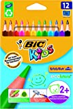 BIC Kids Evolution Triangle ECOlutions Colouring Pencils 12 Pack