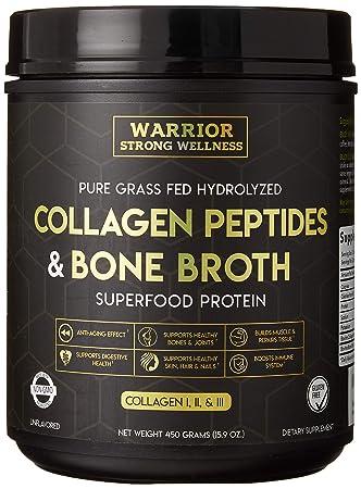 Amazon.com: Warrior - Péptidos de colágeno y cebo de hueso ...