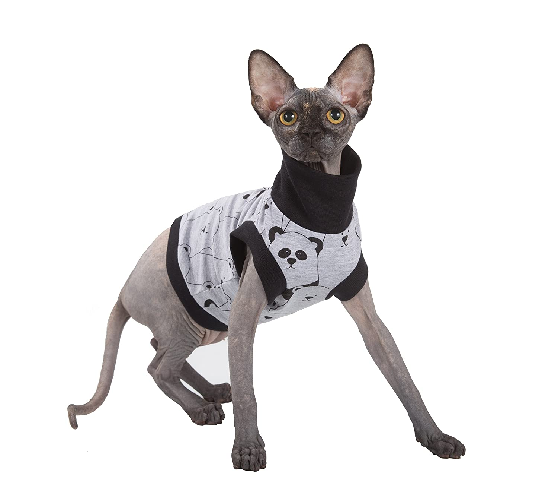 Kotomoda abbigliamento per Gatti Pandas (XS)