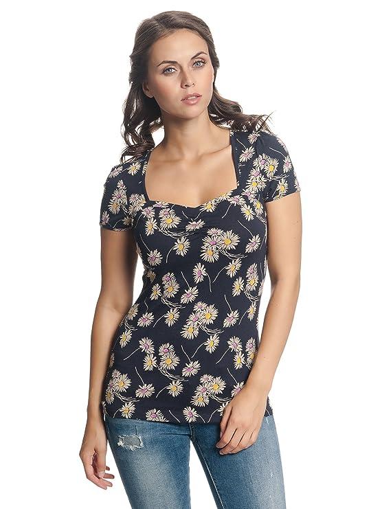 Vive Maria Dancing Daisy Shirt, Camiseta para Mujer: Amazon.es: Ropa y accesorios