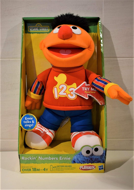 Playskool Sesame Street Rockin Numbers Ernie Hasbro 32430