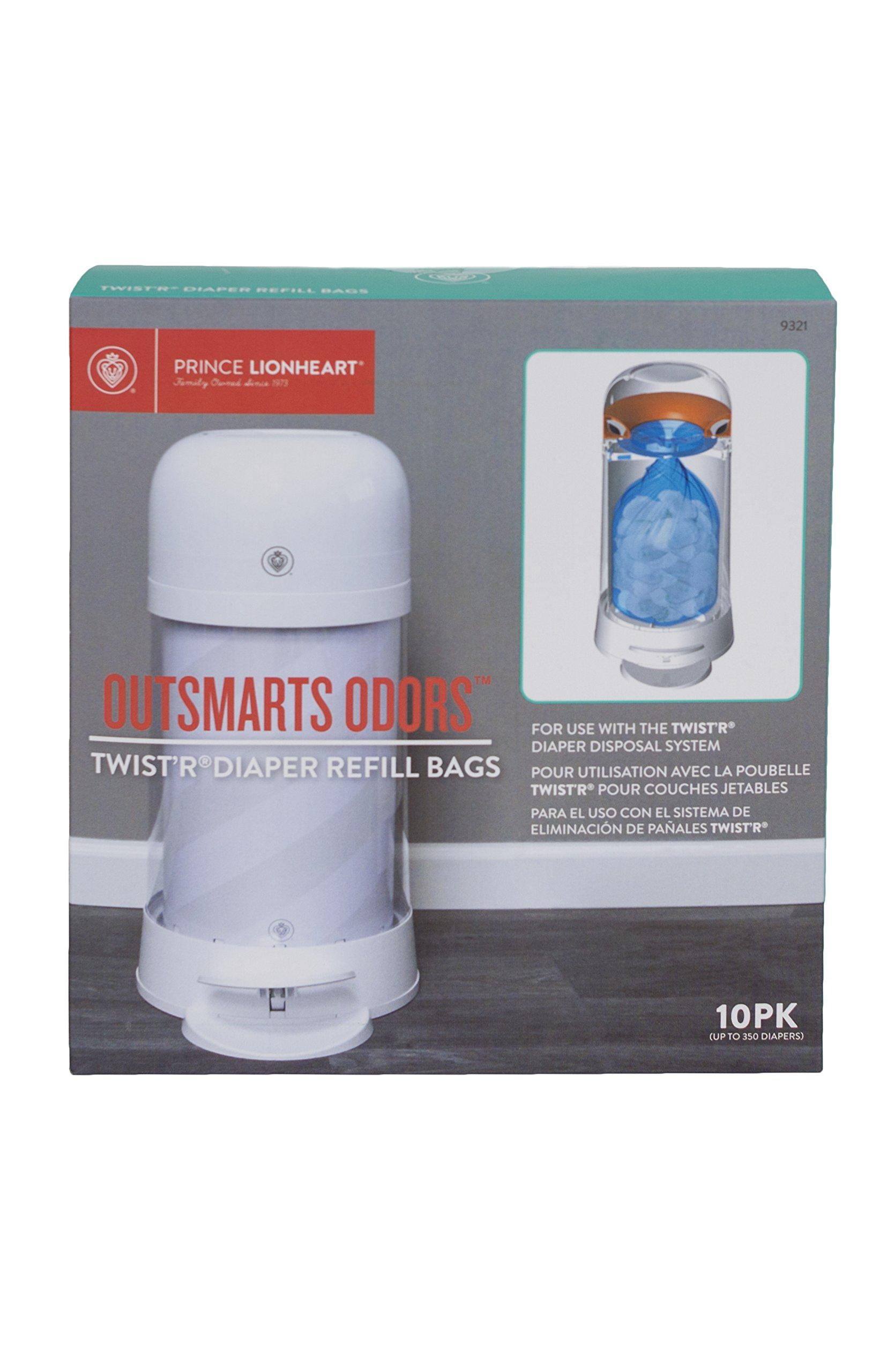 Prince Lionheart Twist'R Diaper Refill Bags-20pk
