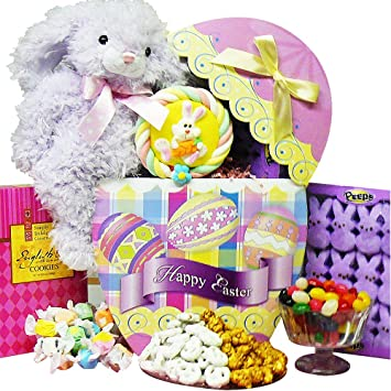 Amazon easter egg stravaganza chocolate and candy gift box easter egg stravaganza chocolate and candy gift box with plush bunny rabbit negle Image collections