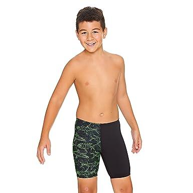 5ee5342ba99d5 Zoggs Boys' Sharkonator Mid Jammer Swim Shorts: Amazon.co.uk: Clothing