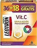 LEOTRON Vitamina C 36+18 comprimidos efervescentes - Complemento alimenticio con vitamina C, zinc y selenio con…
