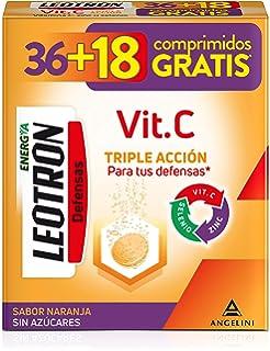 Multicentrum, Complemento Alimenticio con 13 Vitaminas, 11 Minerales y Luteína, para Adultos y Adolescentes a partir de 12 años, con Sabor a Naranja - 20 Comprimidos Efervescentes: Amazon.es: Salud y cuidado personal