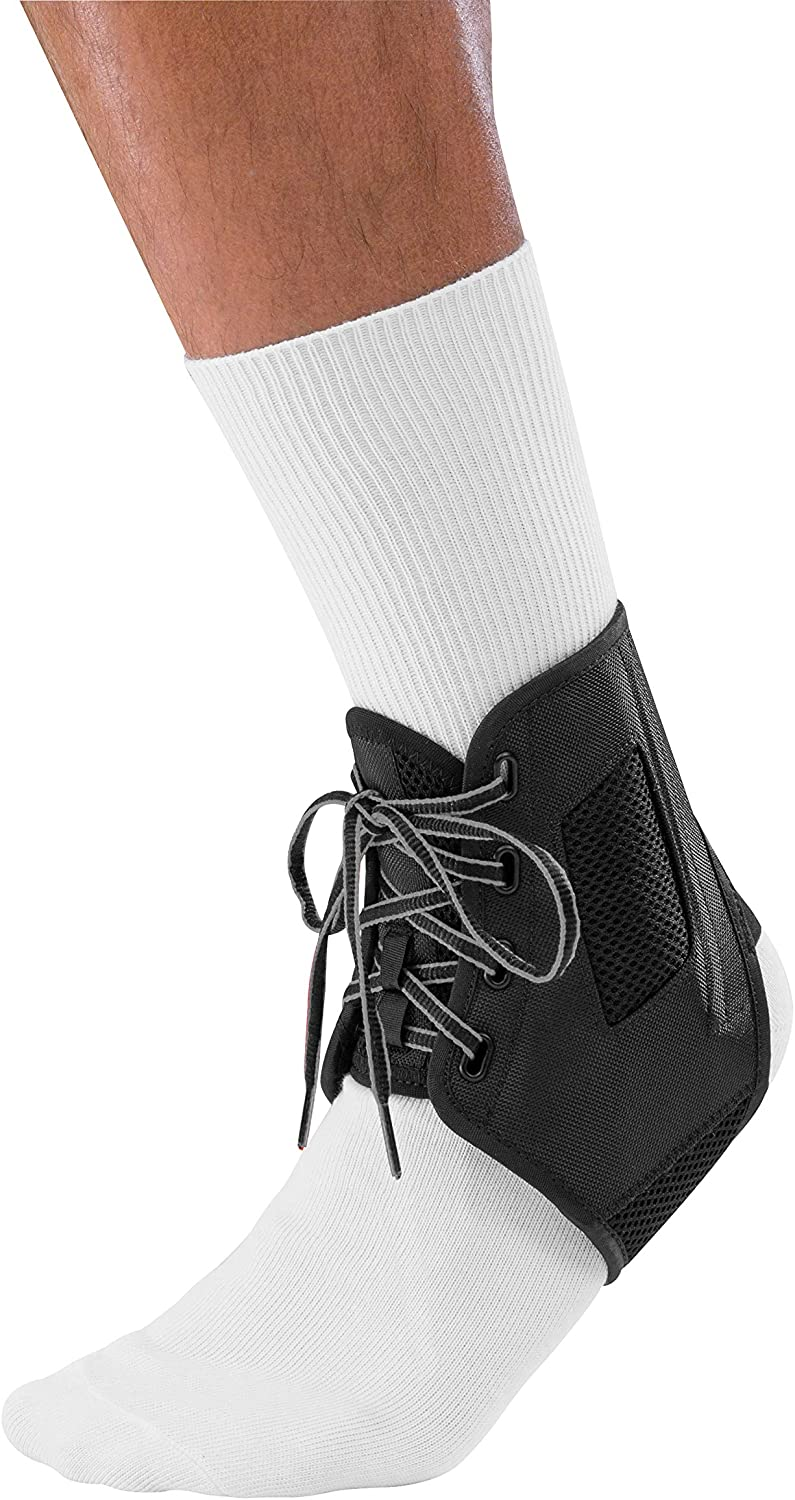 Mueller Sports Medicine ATF3 Ankle Brace, Black, Medium: Health & Personal Care