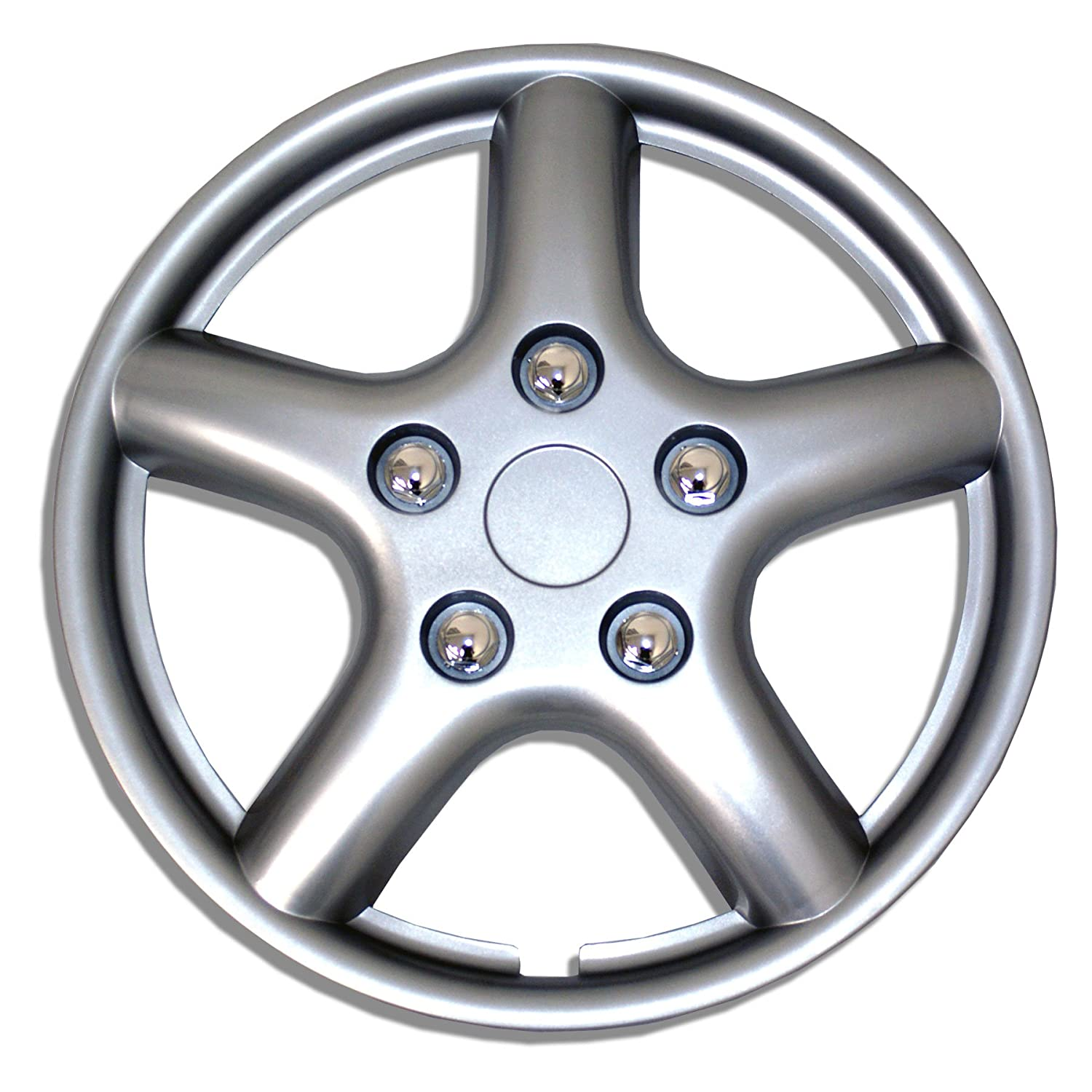 Drive Accessories KT-997-15S//L Toyota Sienna Set of 4 15 Silver Replica Wheel Cover,