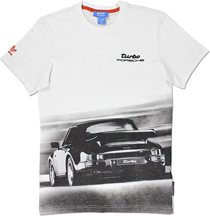 Adidas Porsche 911 Turbo – Camiseta Deportiva para Hombre, Blanco ...