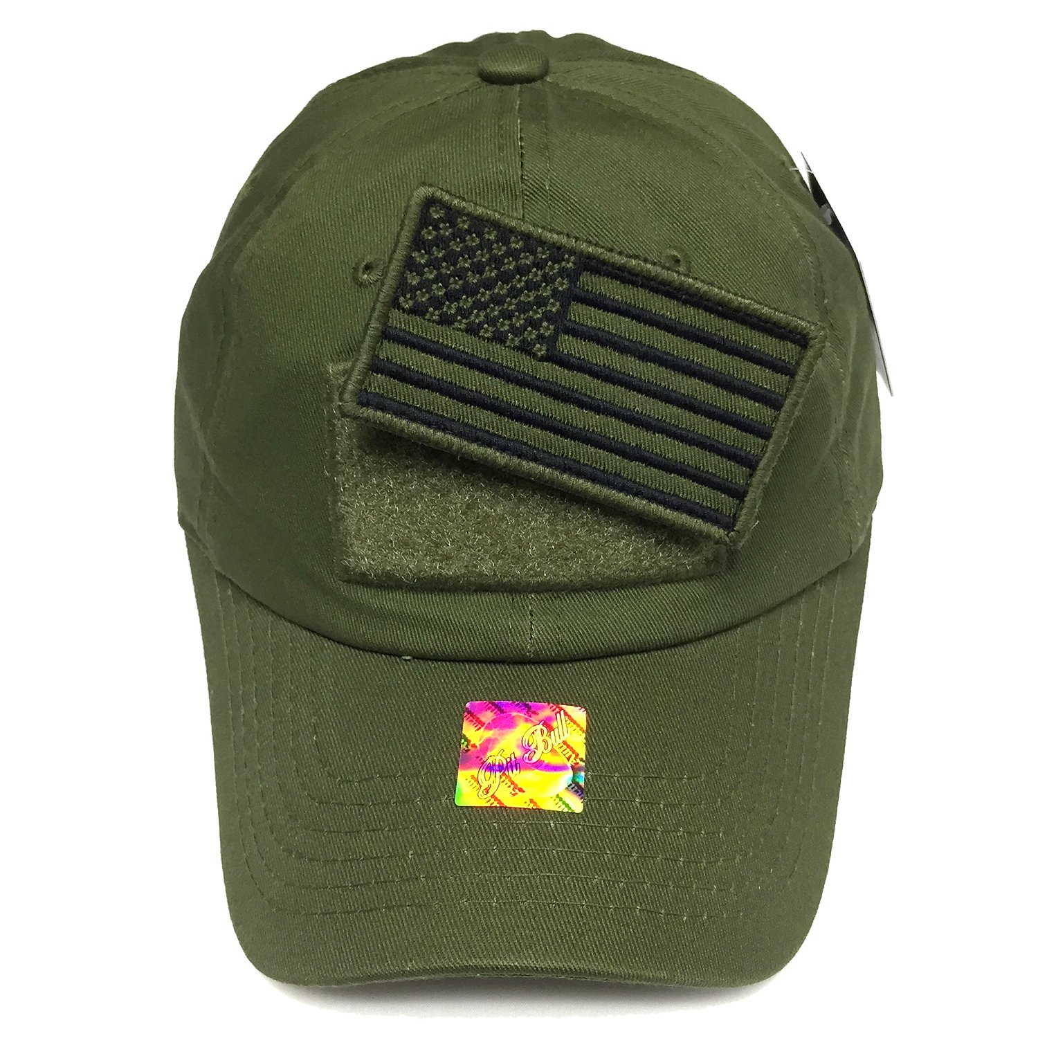 Vintage Cotton Cap U.S. Flag Patch Trucker Washed Baseball Hat Dad Hat  Army cab6c068622
