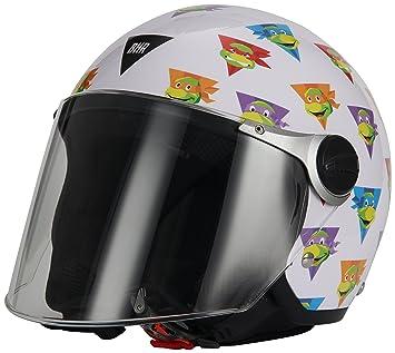 BHR 13396 Casco 713 Tortugas Ninja, tamaño YM (51/52), multicolor