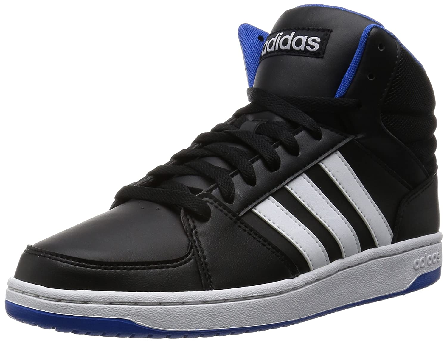 adidas neo black hoops trainers nz