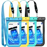 Amazon Price History for:Mpow Waterproof Case, New Type PVC Waterproof Phone Pouch, Universal Dry Bag for iPhone X/8/8 Plus/7/7 Plus, Galaxy/Google Pixel/LG/HTC (4-Pack)