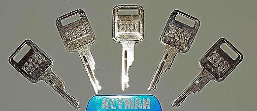 Amazon.com: Keyman - 5 llaves para equipos Case con logotipo ...