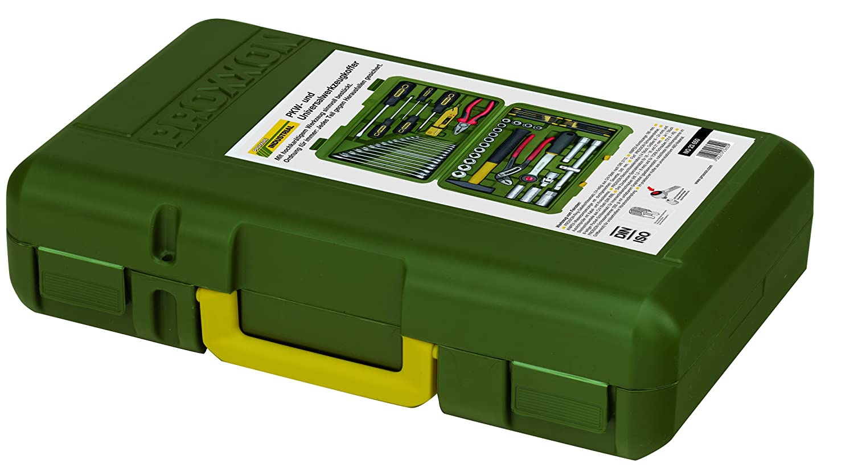 PROXXON Industrial 23650 Werkzeugkoffer 43tlg 1,3 cm 4KT Driver-System PROXXON i.Ku.-Koffer 0,5 Zoll