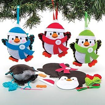 Baker Ross Kits Costura Decoración Pingüino (Pack de 3) para ...