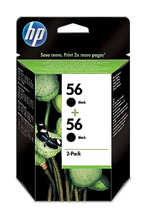 HP C9502AE#301 - Cartucho de tinta, color negro: Amazon.es ...