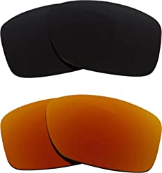 3ebd0fa39f2 JUPITER CARBON Replacement Lenses Polarized Grey   Ruby Red by SEEK fits  OAKLEY