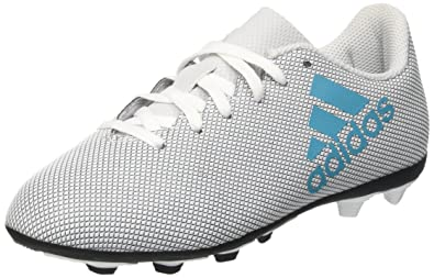 cheap for discount 1896a c8a63 adidas Unisex Kids  X 17.4 Fxg Football Boots, White Light Blue, Multicolor