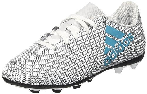 cheap for discount 06c27 e3a54 adidas X 74 FxG J, Scarpe da Calcio Unisex-Bambini, Bianco (Footwear