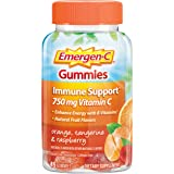 Emergen-C 750mg Vitamin C Gummies for Adults, Immunity Gummies with B Vitamins, Gluten Free, Orange, Tangerine and…