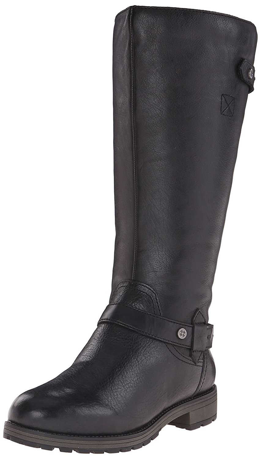 Naturalizer Women's Tanita Wide-Calf Riding Boot B00RBW04XS 7 B(M) US|Black