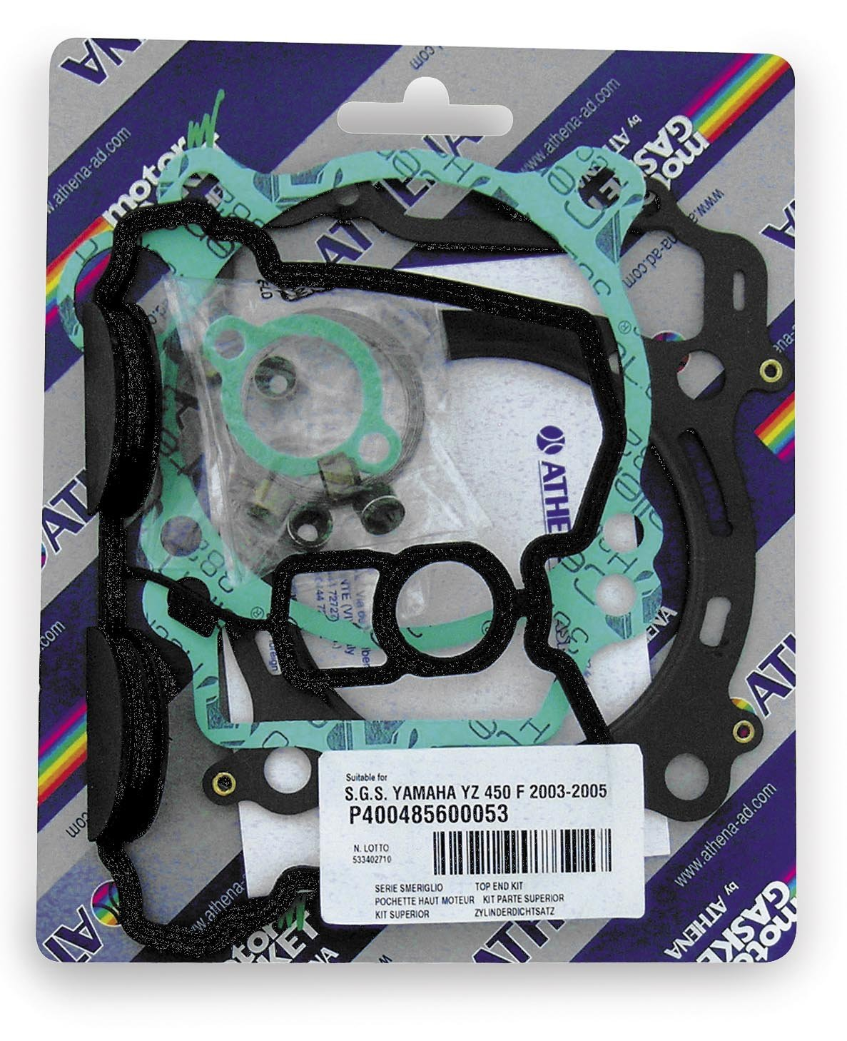 Athena P400110600058 Serie Guarnizioni Smeriglio per Ducati 1098//S 1100 07-13
