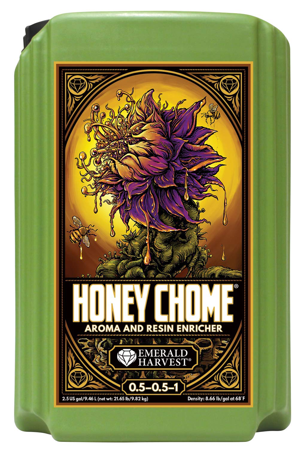 Honey Chome Emerald Harvest 2.5 Gal/9.46 L (2/Cs) by Honey Chome