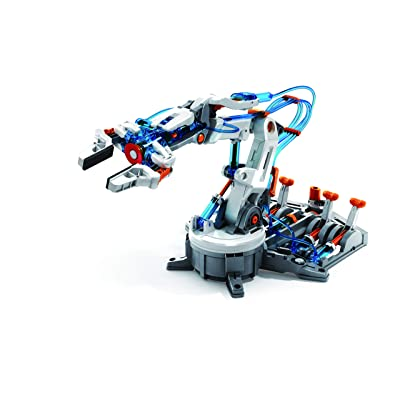 "Elenco Teach Tech ""Hydrobot Arm Kit"", Hydraulic Kit, STEM Building Toy for Kids 10+: Toys & Games"