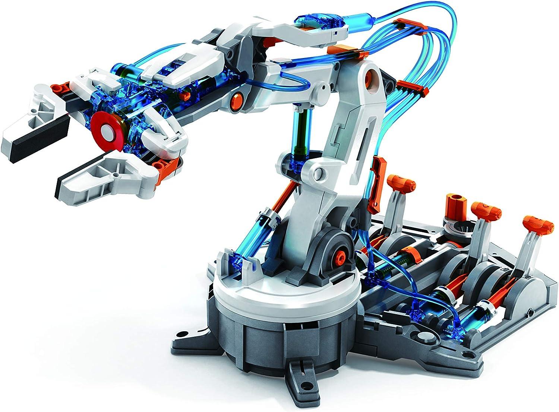 "Elenco Teach Tech ""Hydrobot Arm Kit"", Hydraulic Kit, STEM Building Toy for Kids 10+"