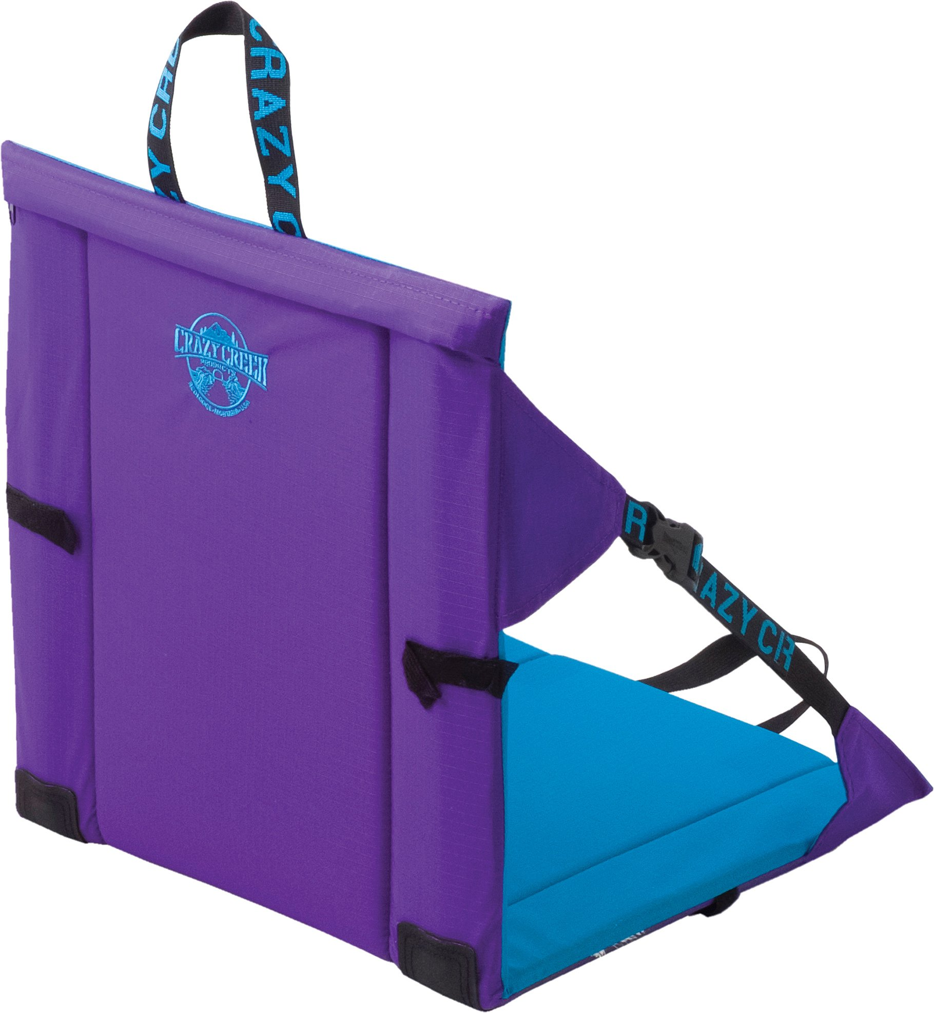 Crazy Creek Original Chair - The Original Lightweight Padded Folding Chair - Purple/Teal